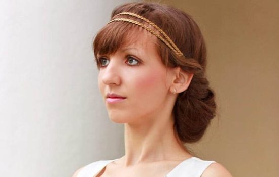 Hairstyles in Greek style – always in fashion! Relevant, trendy ideas hairstyles in the Greek style for celebration and every day