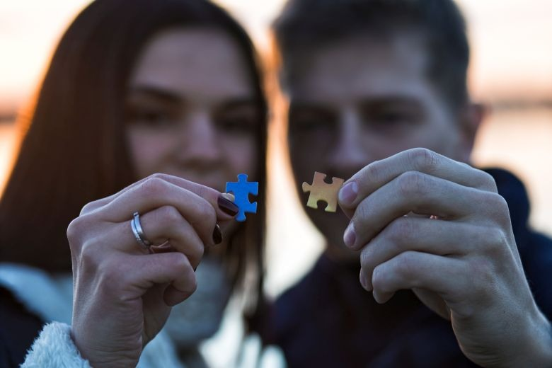 How to choose a partner? Make your puzzle